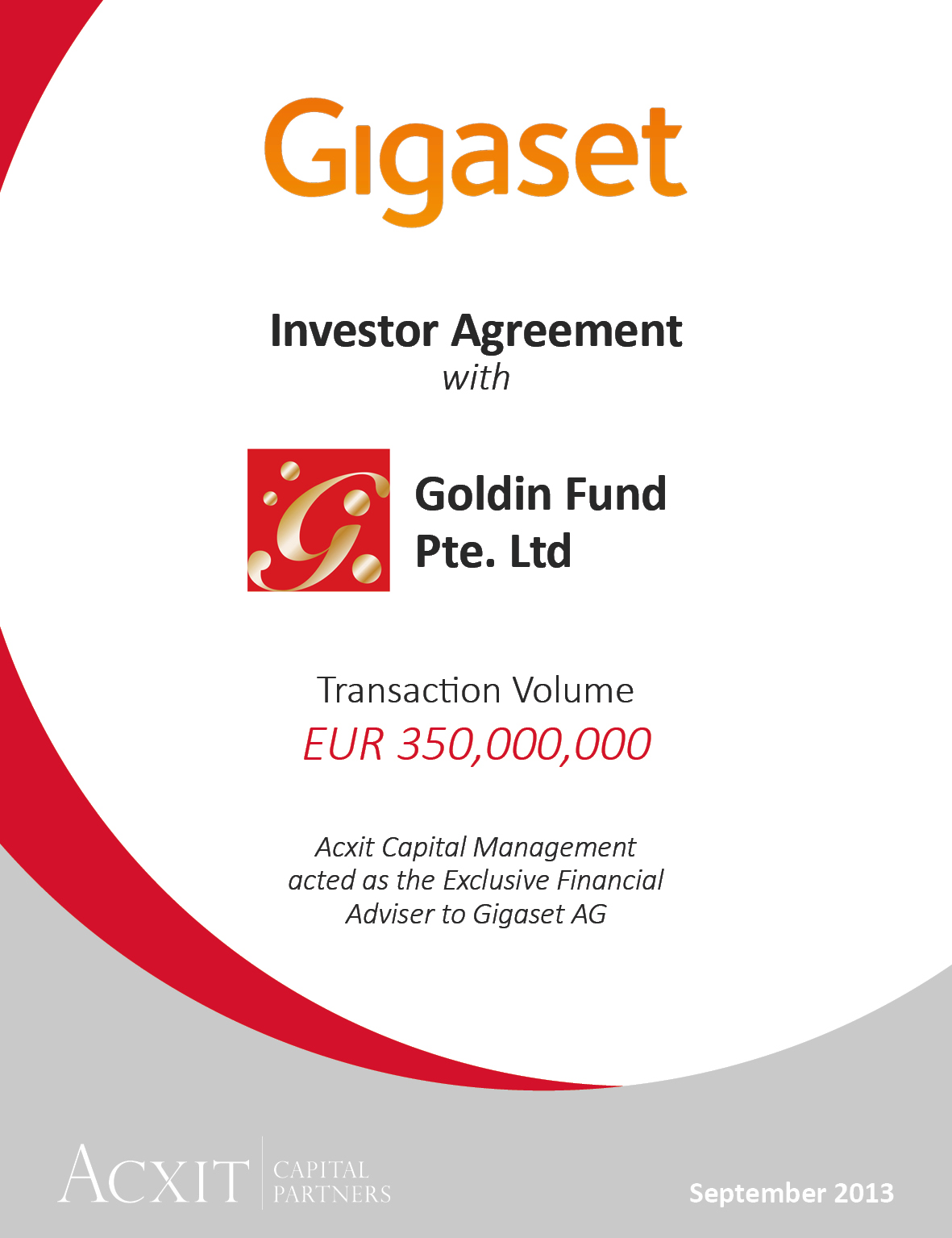 Gigaset & Goldin Fund Pte. Ltd