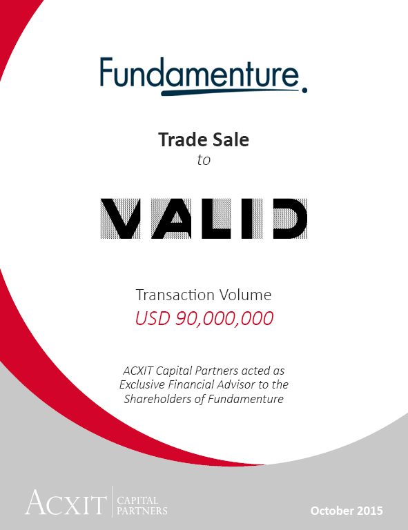 Valid enters into an agreement to acquire Fundamenture A/S