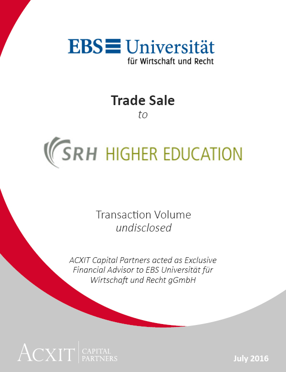 German University EBS becomes part of SRH Higher Education