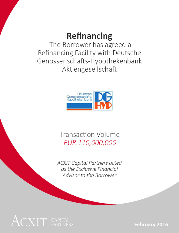 Refinancing with DG HYP