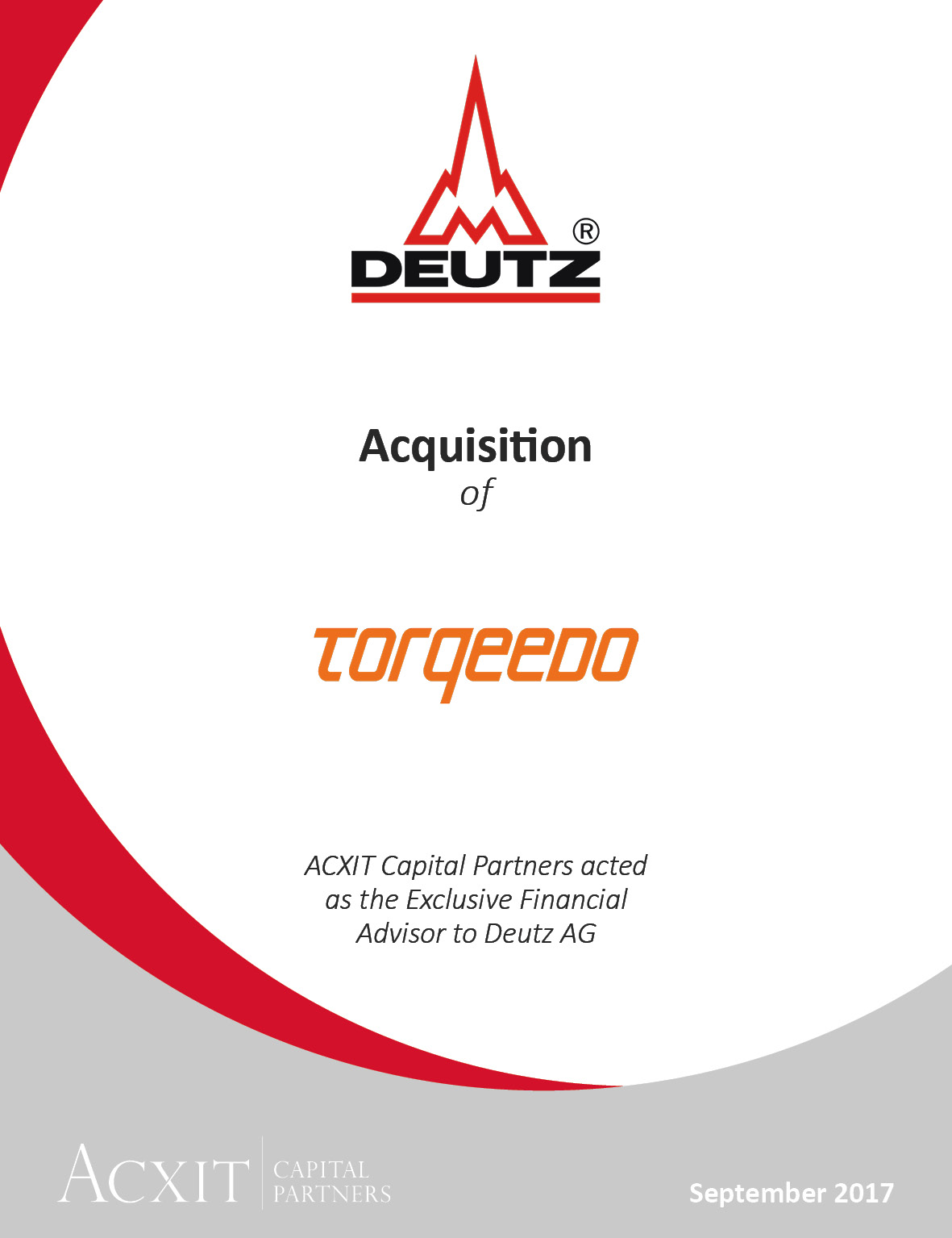 DEUTZ enters the field of electrification and acquires electric drive specialist Torqeedo