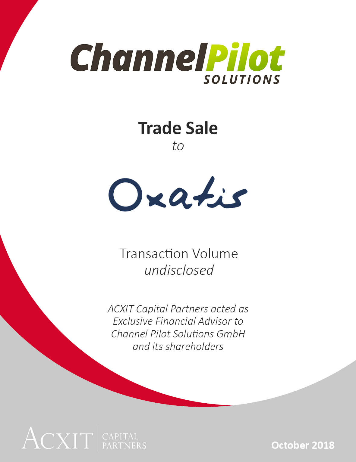 Listed French SaaS company Oxatis acquires Channel Pilot Solutions GmbH