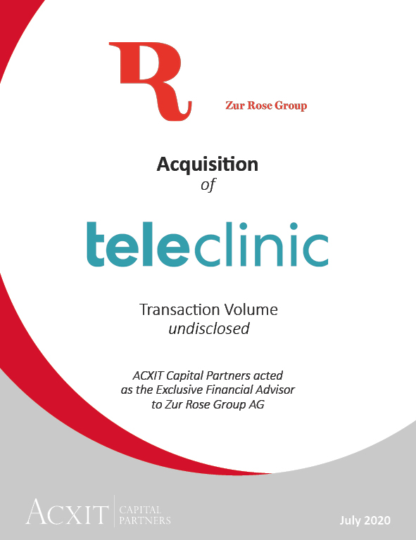 Zur Rose Group acquires Teleclinic